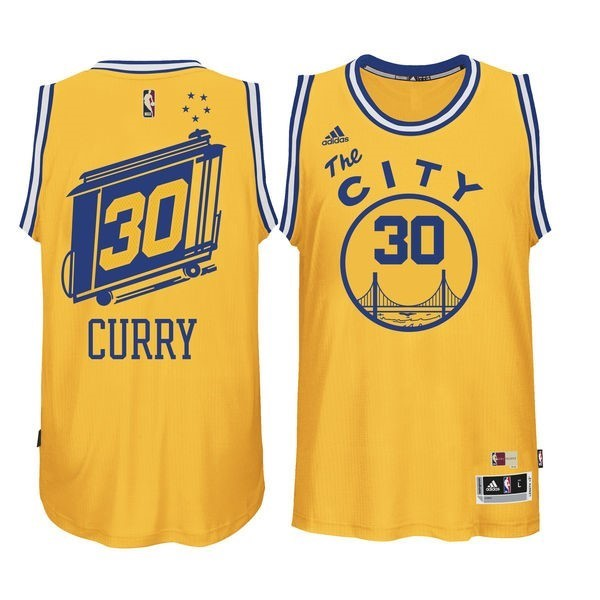 NBA Jerseys Stephen Curry 30 Yellow