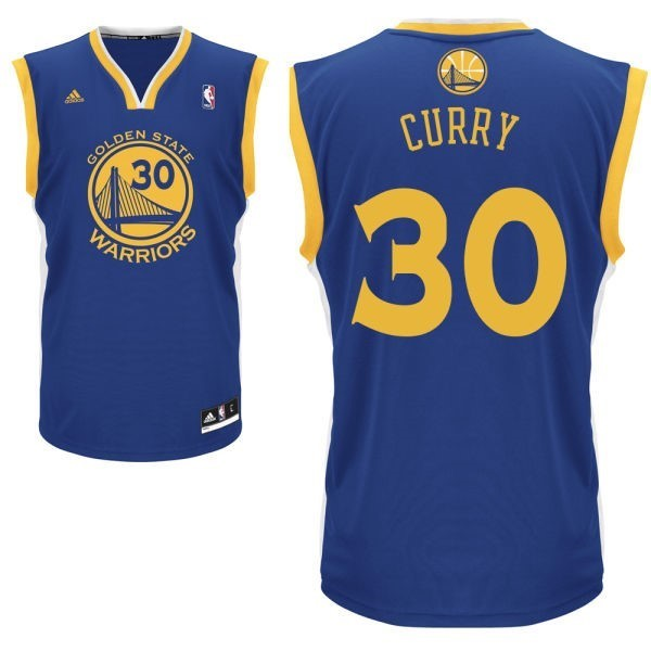 NBA Jerseys Stephen Curry Blue 30